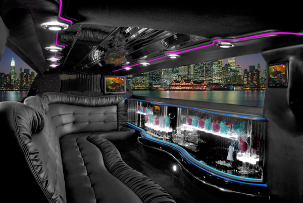 Chrysler 300 limo interior Lubbock