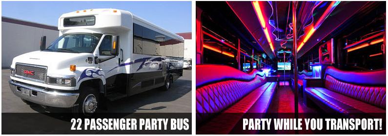 Airport Transportation Party Bus Rentals Nashville